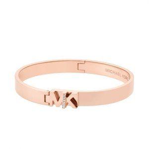 Nwt MK Rose Gold Bangle Bracelet